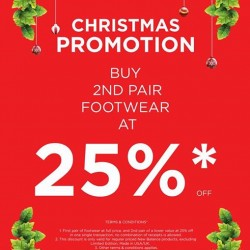 New Balance | 25% off 2nd pair promotion