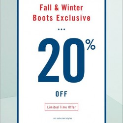 ALDO | Fall & Winter boots at 20% off