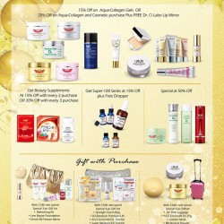 Dr.Ci:Labo | Holiday Cheers promotion