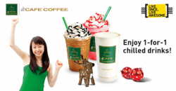 StarHub | 1-for-1 chilled drinks promo at dr. CAFÉ COFFEE