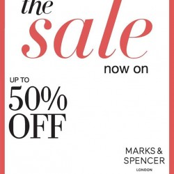 Marks & Spencer | year end sale up to 50% off