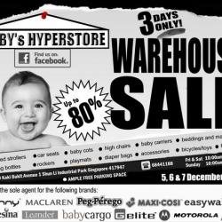 Baby Hyperstore | warehouse sale Up to 80% off