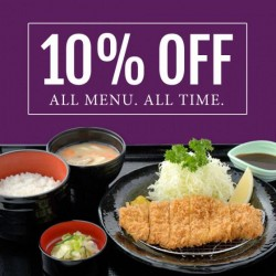 Ginza Bairin | 10% off & 1 for 1 Birthday treat