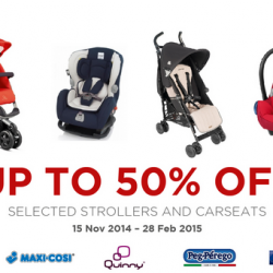 Spring Maternity & Baby | Stroller & Carseats at 50% off