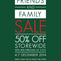 G2000 | Friend and family sale 50% off storewide