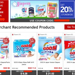 Rakuten.com.sg | 25% OFF Coupon Code @ DIAPERS SG