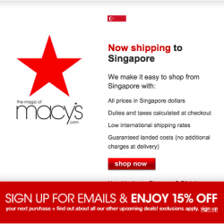 Macys.com | 15% off After Christmas Prices sale