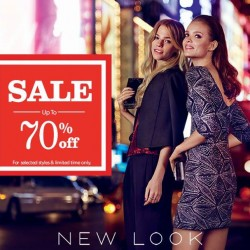 NEW LOOK | Up to 70% off clearance sale