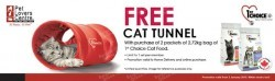Pet Lovers Centre | FREE 1st Choice Cat Tunnel with purchase