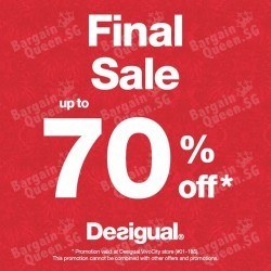 Desigual | up to 70% off final reduction