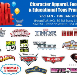 Character Apparel, Footwear & Educational Toys Promotion