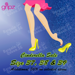 Gripz | Additional 30% off size 37, 38 and 39`