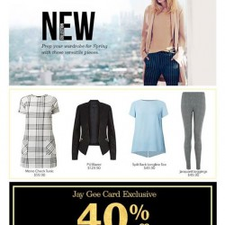 New Look | 40% off store-wide sale