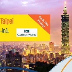 Fly from $391 (all-in)  to Taiwan on Zuji