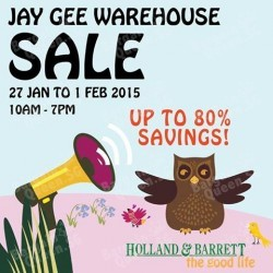Jay Gee Warehouse Sale up to 80% off