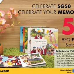 50% off 8SQ FotoJournal Softcover 20pg at FotoHub