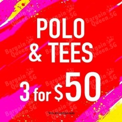 Denizen | 3 Polo & Tees for only $50