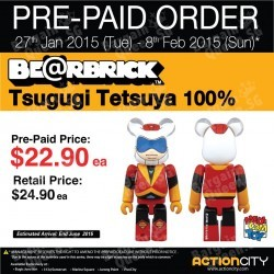 BE@RBRICK Pre-Paid Order special @ Action City