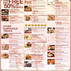 CNY Dinning treats up to 50% off with Diners Club