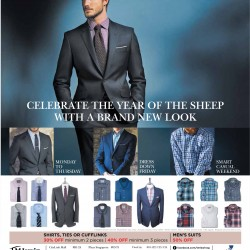 Up to 50% off suit promotion @ T.M. Lewin