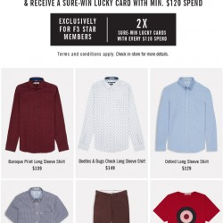 20% off with min spend of $120 @ Ben Sherman