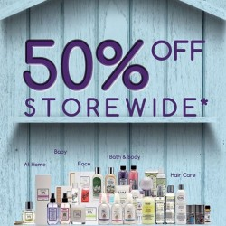 LIN's Home & Beauty | 50% off storewide promotion