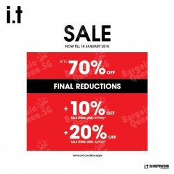i.t Labels | up to 70% off store-wide sale