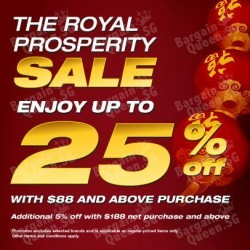 Royal Sporting House |  25% OFF with $88 and above purchases