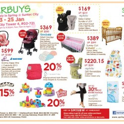 Starbuys from Spring Maternity & Baby @ Suntec