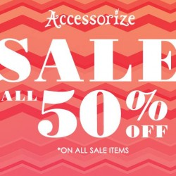 Accessorize | Everything at 50% off