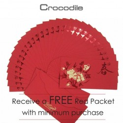 Red Packet with minimum purchase at Crocodile