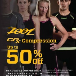 Up to 50% off Zoot CRX Compression products @ Running Lab