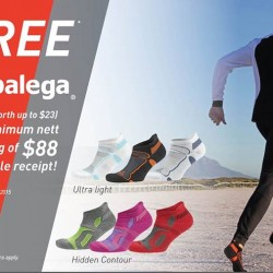 Free Balega socks with $88 spend @ Running Lab