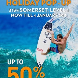 Billabong | 50% off all End Season Holiday Pop-Up