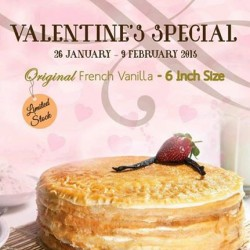 Valentine's Promotion @ First Love Patisserie