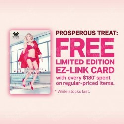 Wacoal | free limited edition EZ-Link Card with every S$180 spent