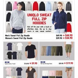 UNIQLO | Sweat Hoodie special price from $34.90