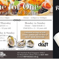 Hotel Miramar | One for One International Buffet