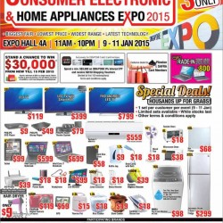 Consumer Electronic and Home Applicances Expo 2015 is happening!