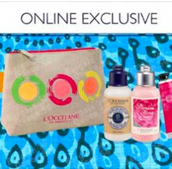 L'OCCITANE  | Online 4 piece Beauty Gift with $120 spent