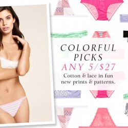 Victoria's Secret | 5 for $27 Select Victoria's Secret Women's Panties