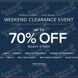 Weekly clearance sale with further mark down @ Brooks Brothers