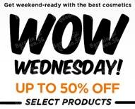 Luxola | Wow Wednesday up to 50% off