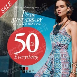 TEMT Westgate | 50% off EVERYTHING