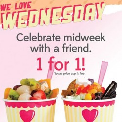 1-FOR-1 Wednesday @ Sogurt
