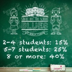 Up to 40% off Student Special @ Sogurt