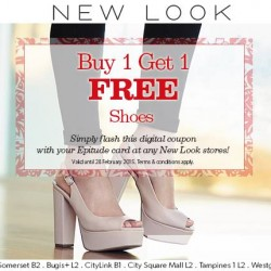 Buy-1-Get-1-Free offer @ New Look for Epitude Members