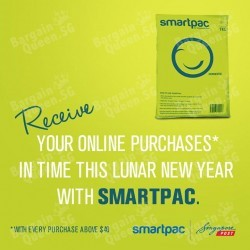 FREE Smartpac delivery with $40 spend @ KissJane