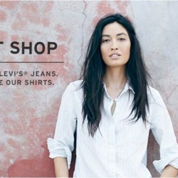 Buy 1 Get 1 Free on regular priced ladies shirts @ Levi's with JayGee Card