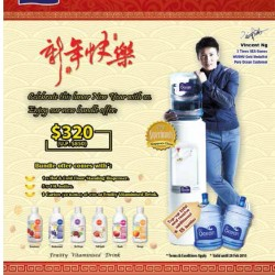 Mineral/distilled water bundle offer @ Pere Ocean